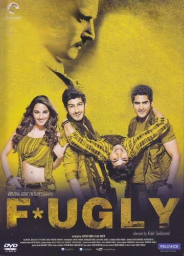 Fugly Hindi DVD (stg: Jimmy Shergill,Mohit Marwah)(Bollywood/Film/Movie)