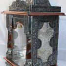 "Puja Mandir (Temple/ Shrine/ Altar/ Pooja) With Bell 13""x 10""x 27"""