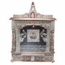 "Puja Mandir (Temple/ Shrine/ Altar/ Pooja) With Bell 22""x 10""x 30"""