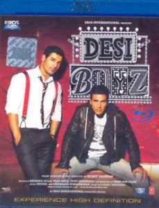 Desi Boys Hindi Blu Ray