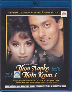 Hum Aapke Hain Koun Hindi Blu-ray - Salman Khan, Madhuri Dixit (Indian Film)