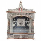 "Puja Mandir (Temple/ Shrine/ Altar/ Pooja) With Bell 25""x 10""x 31"""
