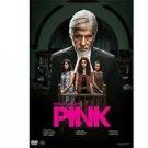 Pink Hindi DVD (2016) Stg: Amitabh Bachchan,Taapsee Pannu,Kirti Kulhari
