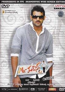Mr Perfect Telugu DVD Stg: Prabhas, Kajol, Tapsee (2011) Indian Film