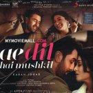 Ae Dil Hai Mushkil Audio CD Stg: Ranbeer kapoor, Aishwarya rai Bachchan