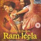 Goliyon Ki Raasleela Ram-Leela Hindi DVD (Stg: Ranveer Singh, Deepika Padukone)
