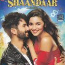 Shaandaar Hindi Blu Ray Stg: Shahid Kapoor, Alia Bhatt - 2015 Bollywood Film