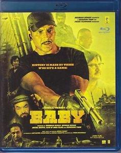 Baby Hindi Blu Ray - Akshay Kumar, Danny Denzongpa, Anupam Kher (2015)(Film)