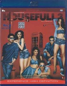 Housefull 3 Hindi Blu Ray - Akshay Kumar, Abhishek Bachan, Ritesh Deshmukh Film