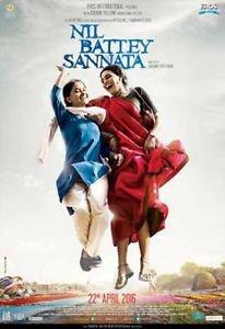 Nil Battey Sannata Hindi DVD (2016)