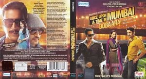 Once Upon a time in Mumbai Dobaara Hindi Blu ray Stg: Akshay Kumar, Imran Khan