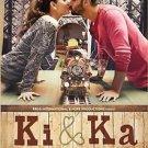 Ki and Ka Hindi DVD - Kareena Kapoor Khan and Arjun Kapoor (2016) (Film)