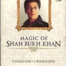 Magic Of Shah Rukh Khan Hindi Audio CD 4 pack Collectors Edition All Time Hits
