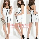Bareback Cross Strap Dress