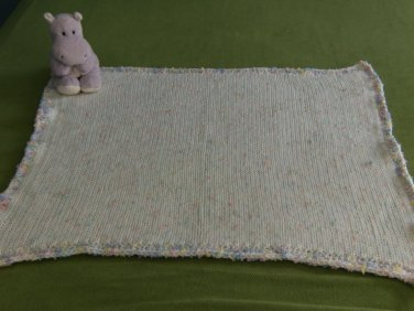 Double Knit Speckled Baby Afghan