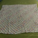 Lightweight Diagonal Stitch Baby Afghan