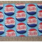 Checkbook Cover: Pepsi Cola Theme: Handcrafted