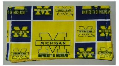 Checkbook Cover: University of Michigan