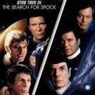 Star Trek 3-Search For Spock/Star Trek 4-Voyage Home (DVD/Dble Feat/2Discs)