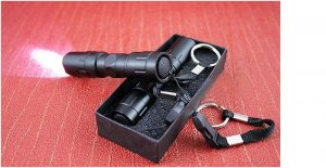 LED Waterproof Flashlight/Electric torch with box ON SALE ONE GET ONE FREE