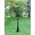 Gamasonic GS-94S 7-Foot Tall Victorian Solar Lamp Post One Head LED Light, White FREE SHIPPING