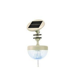 Gamasonic GS-33K Crown Solar Shed Light- White ON SALE