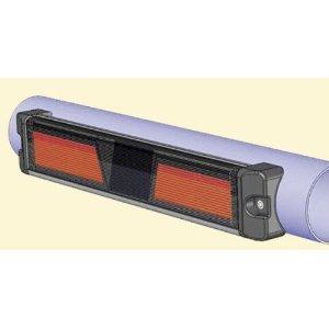 Gama Sonic GS-61AFR Solar Warning Light (Round Install)
