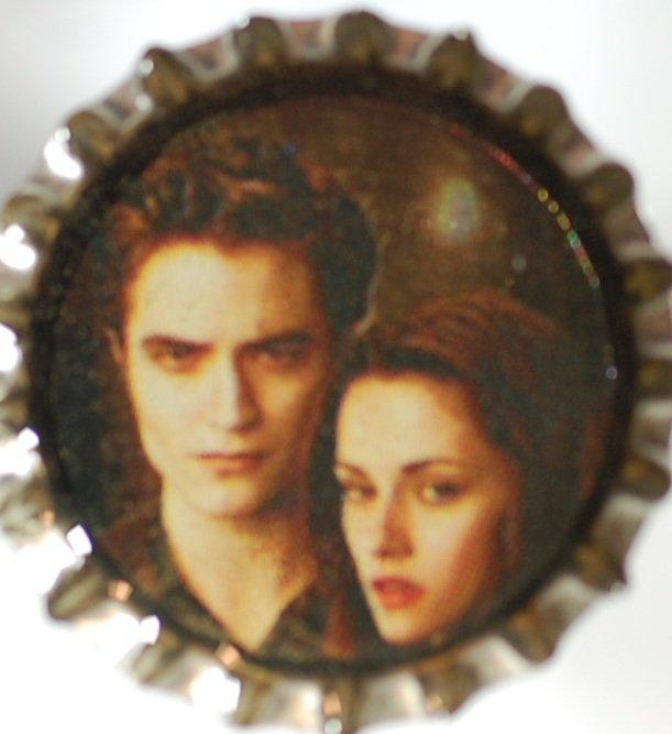 Bella and Edward Twilight bottle cap
