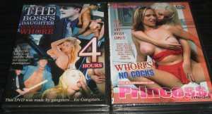 5 hours of all girl action! 4 hours of gangster sex! Free Shipping!
