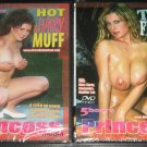 5 hours of all tits and hairy muff action! 2 DVD's Free Shipping!