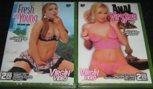 These girls like it from the back! Anal action and more! Free Shipping 2 DVDs!