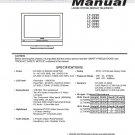 MITSUBISHI LT-2220 LT-2240 LT-3020 LT-3040 LT-3050 LCD TV SERVICE REPAIR MANUAL