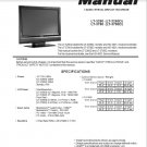 MITSUBISHI LT-3280 LT-3280D LT-3780 LT-3780D LCD TV SERVICE REPAIR MANUAL