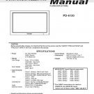 MITSUBISHI PD-6130 PLASMA TV SERVICE REPAIR MANUAL