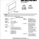 MITSUBISHI WT-46809 WS-55809 WS-65809 WS-55819 WS-65819 TV SERVICE REPAIR MANUAL
