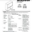 MITSUBISHI WS-55859 WS-65869 WS-55909 WS-65909 WS-73909 TV SERVICE REPAIR MANUAL