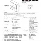 MITSUBISHI WS-55517 WS-65517 WS-73517 TV SERVICE REPAIR MANUAL