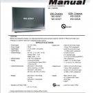 MITSUBISHI WD-52527 WD-62527 WD-52528 WD-62528 TV SERVICE REPAIR MANUAL