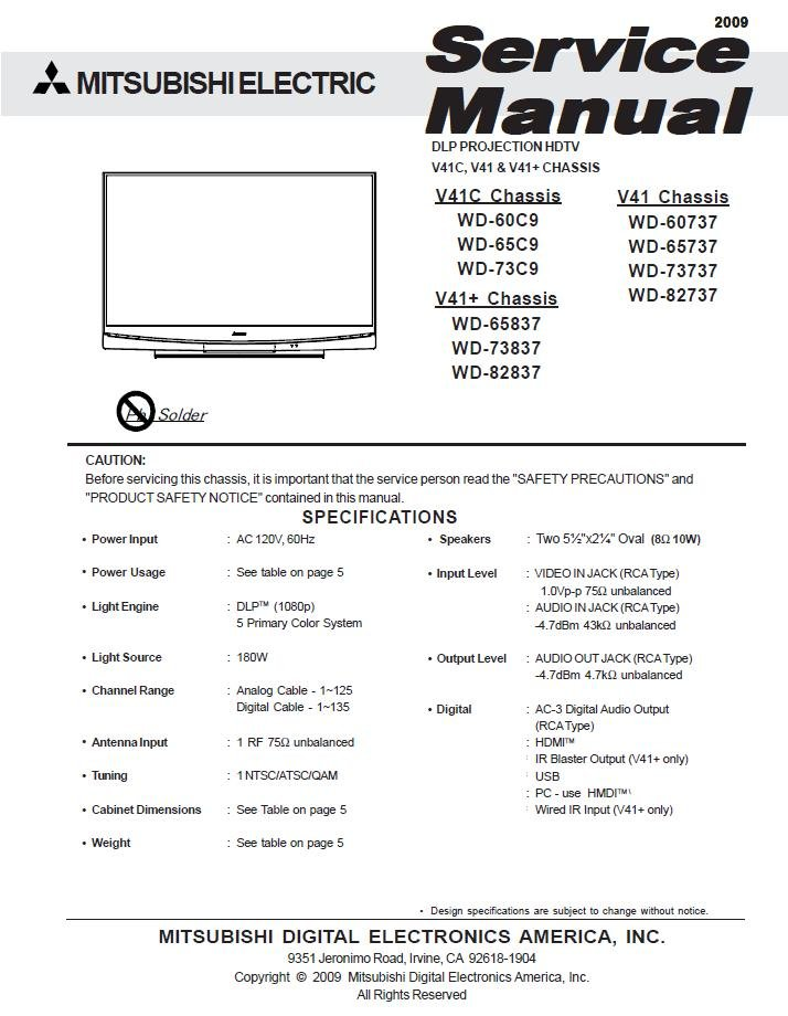 mitsubishi wd 60737 service manual enthusiast wiring diagrams u2022 rh rasalibre co Mitsubishi Eclipse Manual Mitsubishi Outlander