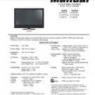 MITSUBISHI LT-37131 LT-37131A LT-46131 LT-37132 LT-37132A LT-46231 TV SERVICE REPAIR MANUAL