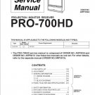 PIONEER ELITE PRO-700HD SERVICE REPAIR MANUAL OEM