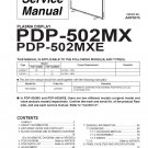 PIONEER PDP-502MX PDP-502MXE SERVICE REPAIR MANUAL OEM