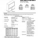 MITSUBISHI WS-48511 WS-55511 WS-65511 WS-B55 WS-65611 WS-55711 WS-65711 WS-73711 TV SERVICE MANUAL