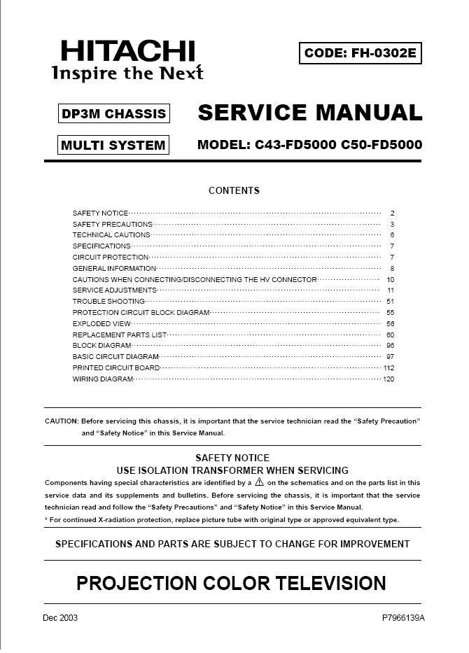Fd5000 manual on