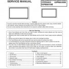 HITACHI 32PD5000 32PD5100 32PD5200 42PD5000 42PD5100 42PD5200 42PMA500E 55PMA550E TV SERVICE MANUAL