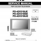 JVC PD-42V31BJE PD-42V31BSE PD-42V31BUE TV SERVICE REPAIR MANUAL