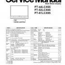 PANASONIC PT-44LCX65 PT-52LCX65 PT-61LCX65 TV SERVICE REPAIR MANUAL