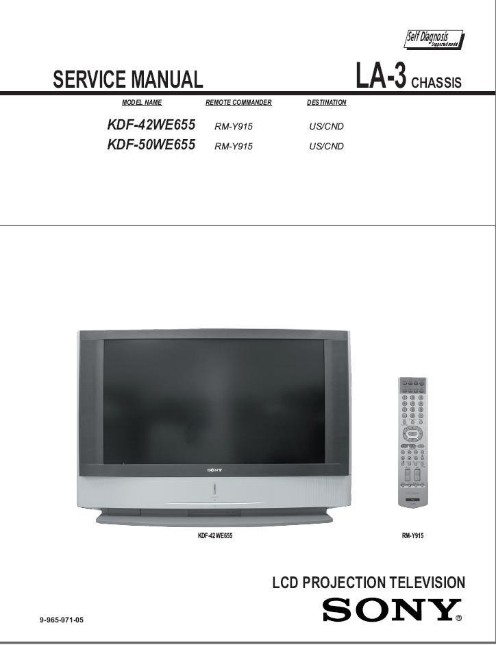 sony manual kdf 42we655 ebook rh sony manual kdf 42we655 ebook tempower us Sony Wega Sony KDF 60XBR950 Problems