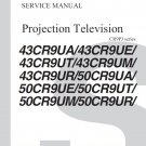TOSHIBA 43CR9UA 43CR9UT 43CR9UM 43CR9UR 50CR9UA 50CR9UE 50CR9UM 50CR9UR TV SERVICE REPAIR MANUAL