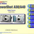 CANON POWERSHOT A30 A40 DIGITAL CAMERA SERVICE REPAIR MANUAL